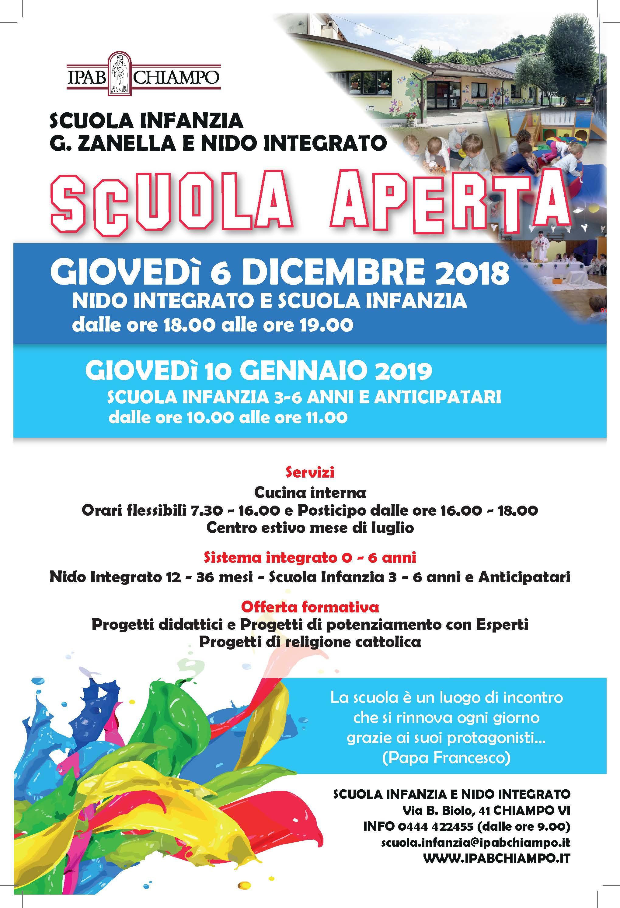 Scuola Aperta 2018/2019